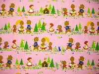 Japanese Novelty Prints - Goldilocks and the Three Bears