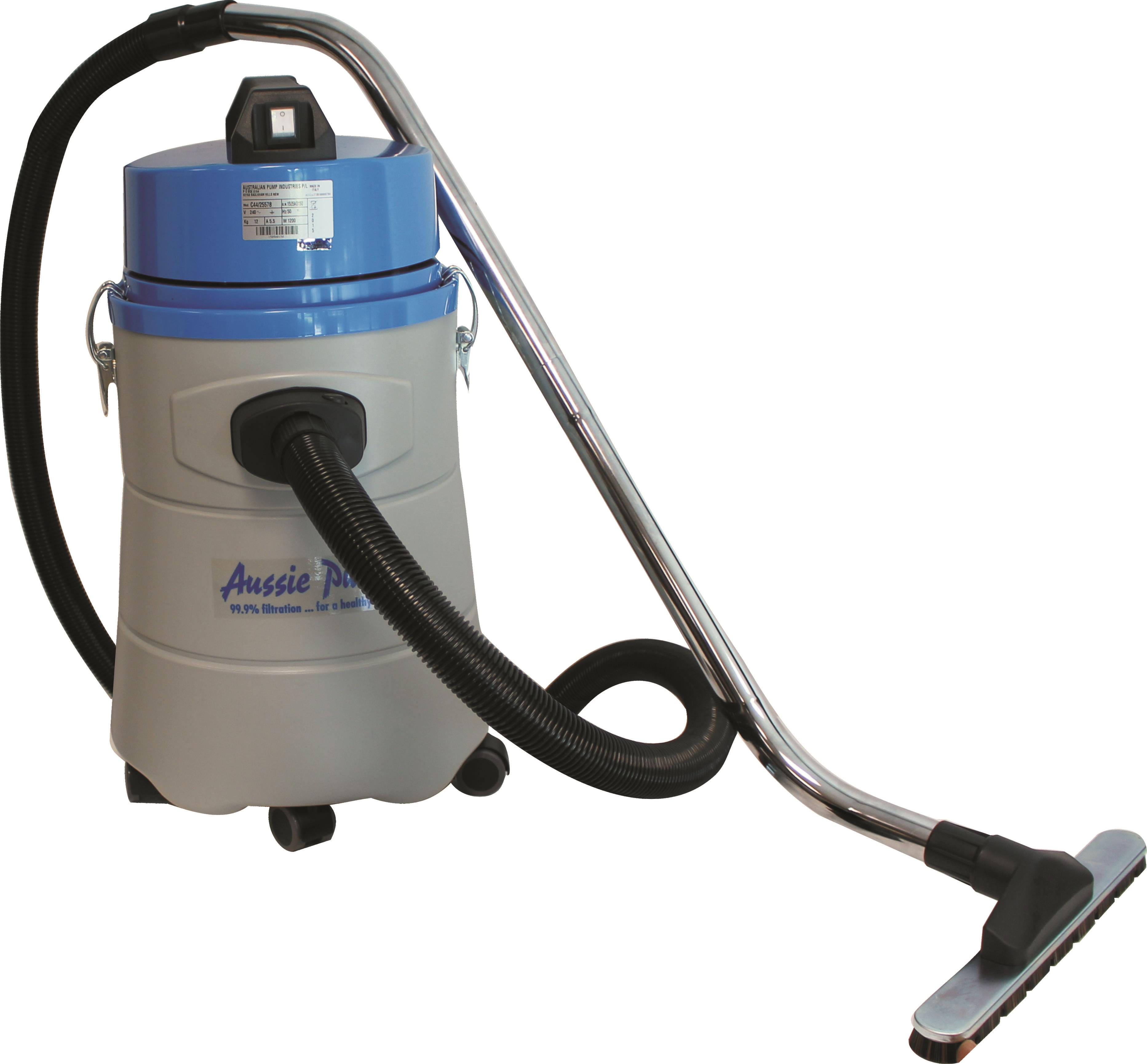 Aussie pumps vc44 wet dry commercial vacuum cleaner for Best vacuum for cement floors