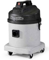 NUMATIC NDD570  I8 LITRE FINE DUST VACUUM CLEANER FOR THE BUILDING INDUSTRY, TWIN MOTOR, MADE IN ENGLAND,ideal machine for the removal of fine dust such as cement, plaster or welding