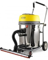PULLMAN 60L HEPA  WET & DRY OUTRIGGER 2300 WATT  2 MOTOR VACUUM CLEANER WITH extra-wide 60cm floor tool, YLW621660LSSWOUT  WD60LSSO **FREE DELIVERY**
