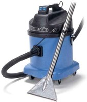 Numatic CT570 -2 CARPET EXTRACTION VACUUM. Medium size 'CT' extraction cleaning vac with powerful 1200W two stage motor and super-tough Structofoam construction.