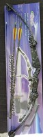 """Perfectline Compound bow 60# 27-29"""" Camo Kit"""