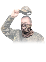 Primos Hunting Stretch-Fit Mask 1/2 Mask
