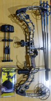 Mathews HDX No Cam 70# Compound Bow Field Ready - Clearance