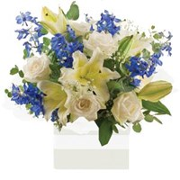 Blue Mist Arrangements From $65