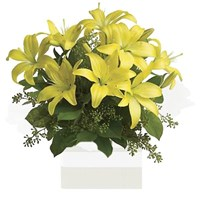 Yellow Lilies, Arrangement From $65