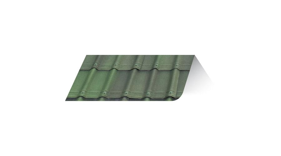 Onduvilla Tile Shaded Green