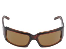 Odyssey Mini Groove Brown Grid Sunglasses
