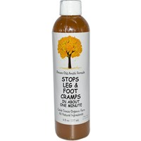 Caleb Treeze Organic Farm, Stops Leg & Foot Cramps, 8 fl oz (237 ml)