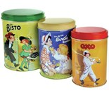 Bisto - Bird's Custard and OXO Tin (Set of 3)