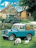 Land Rover. Series 1 and PIck Up Truck - Metal Wall Sign (2 sizes)