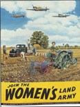Women's Land Army (tm) - A3 Sign
