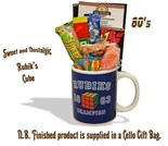 NEW IN Rubik's Cube Mug with/without  80's retro sweeties.