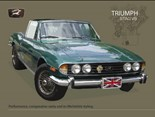 Triumph Stag V8 - A3 Sign