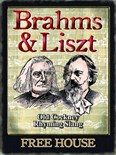 Brahms and Liszt Pub Sign - Metal Wall Sign (2 sizes)