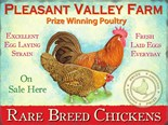 Pleasant Valley Farm - A5 Sign