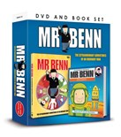 NEW IN.. Mr Benn DVD and Book Set