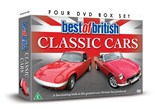 NEW IN..Best of British Classic Cars - 4 Disc DVD Set