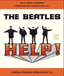 Beatles - HELP - Metal Wall Sign (2 sizes)