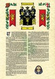 NEW IN.. Coat of Arms and Surname History