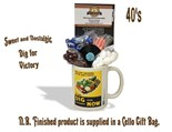 NEW IN.. Dig for Victory Mug with/without a selection of 40's Traditional Sweets.
