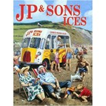 JP & Sons Ice Cream Van - A3 Sign