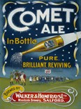 Comet Ale A3 Tin Sign