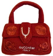 NEW! Gucchewi Italy Bag Plush Toy