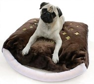 Chewy Vuitton Mono Designer Pet Bed