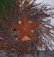 Large Barn Star Wreath-22""