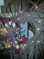 Primitive Candy Cane Wreath-22
