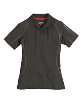Musto Evolution Sunblock Polo Short Sleeve Womens Black CLEARANCE