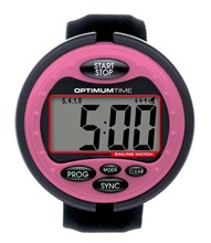 Optimum Time OS319 Pink Sailing Watch and Timer