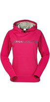 Musto Evolution Logo Hoodie Womens Vivacious Pink CLEARANCE