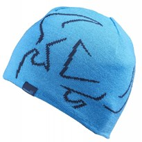 Forward Sailing Woven Reversible Beanie Cyan