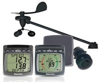 Raymarine Wireless Wind, Speed and Depth System with Triducer T108-916