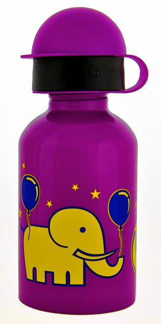 Cheeki 350 Ml Circus Kids Stainless Steel Water Bottle Bpa