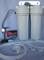 Crystal Clear Dual Undersink Water Filter Unit