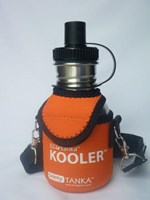 Teeny Tanka Kooler Cover Orange