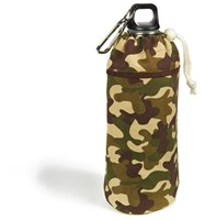 Keep Leaf Camo Small Organic Insulated Bottle Bag for 380 ml to 600 ml Bottles