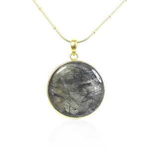 The Natural Moss Agate Pendant