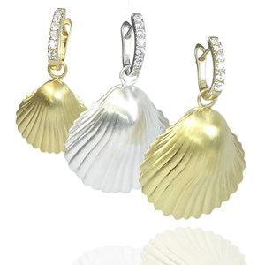 The Detachable Shell Earrings