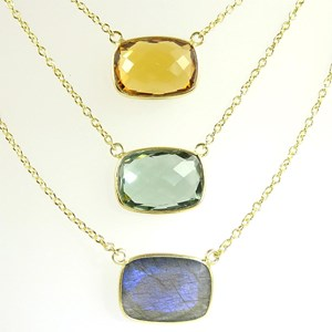 NEW! Our fabulous Talpe Gemstone Necklace