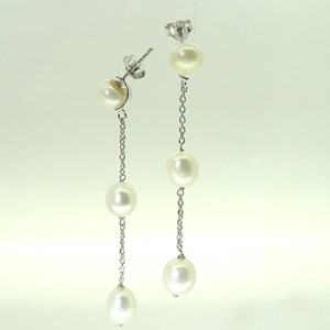 NEW! Pearls by the Metre Earrings - DETACHABLE!