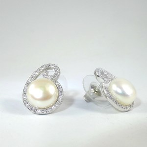 NEW! The Pearl Swirl with real pearls!