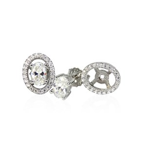 The Diamond Studs With A Removable Halo