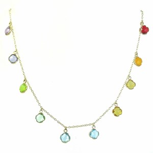 The Rainbow Clover Necklace - Hydro