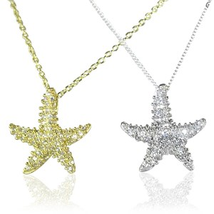 The 'Diamond' Starfish Pendant