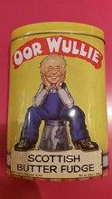 Oor Wullie Scottish Butter Fudge 250g tin