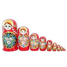 Summer Matryoshka, 10pcs